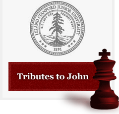Click here to view tributes to John.
